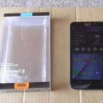 ZenFone2の背面カバーのハードケースクリア購入してみた
